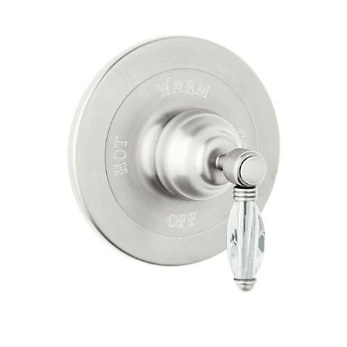 Polished Nickel Rohl A1400LCPN Showers Crystal Pressure Balance Trim