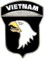 US Army Vietnam 101st Airborne Division Lapel Pin or Hat