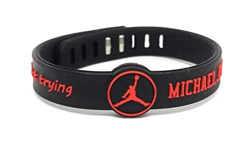SportsBraceletsPro -Adjustable Player - Basketball Bracelets - Adjusts from Youth to Adult Size - Silicone - Baller Bands