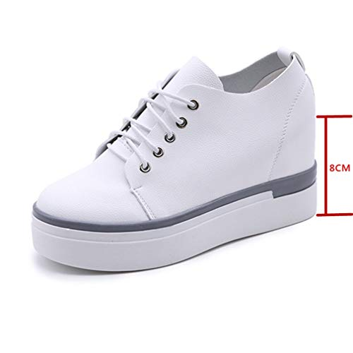 359b4f1fd18fc Amazon.com: Fashion Women Wedge Sneaker Casual Outdoor Damping Eva ...