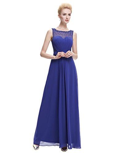 embellished bodice maxi dress - 8