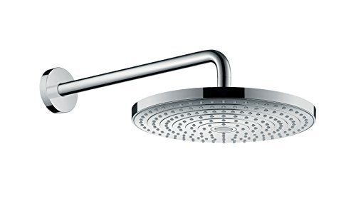 hansgrohe Raindance Select S 300 overhead shower with 390 mm shower arm, 2...