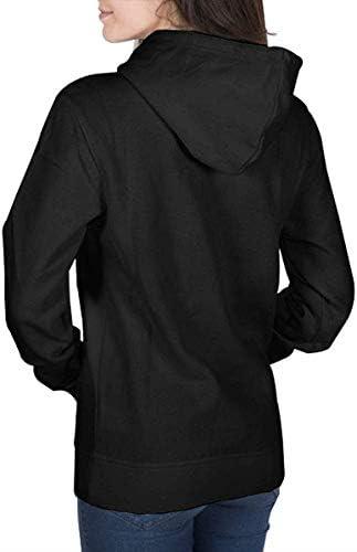 xinfub Frauen Wikinger Schiff Langarm Pullover Hoodie Sweatshirts
