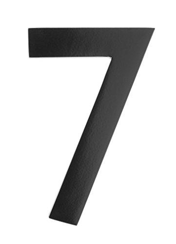 mailbox numbers metal - 6