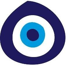 Decal - Vinyl Wall Sticker : Evil Eye - Auto Care / Window - - Size : 16 Inches X 16 Inches - 22 Colors Available