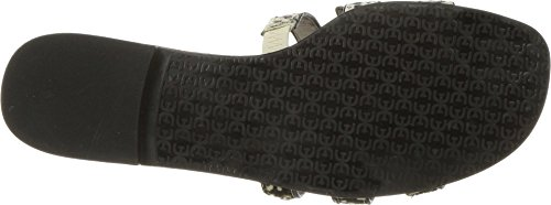 Sam Edelman Women's Bay Slide Sandal Black/Black/Ivory Dotted Brahma Hair outlet locations for sale free shipping sast cheap sale low shipping yYcni
