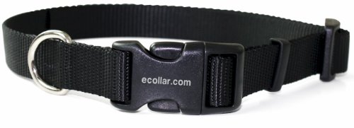 Educator Nylon Quick Snap Collar, 3/4-Inch, Black
