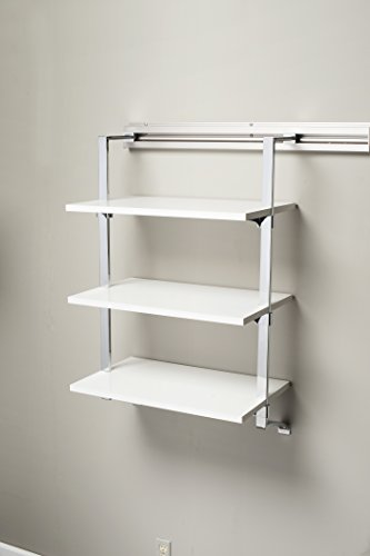 Arrange a Space SU3.12.24.CM Three Shelf Add-On, 24 by 11.75 by 38-Inch, Maple