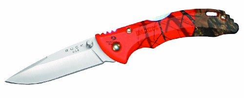 Buck 284 Bantam BBW Knife (Mossy Oak Orange Blaze), Outdoor Stuffs