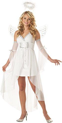 [Heaven's Angel Costume - Large - Dress Size 10-12] (Angel Halloween Costumes For Women)