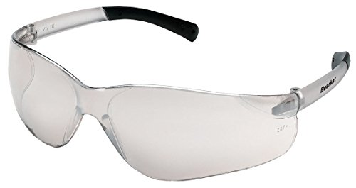 Crews BK219 Bearkat Sml S/Glasses Clear Frm w/In/Out Clear Mirror Lens(12 - Clear Lens Frm