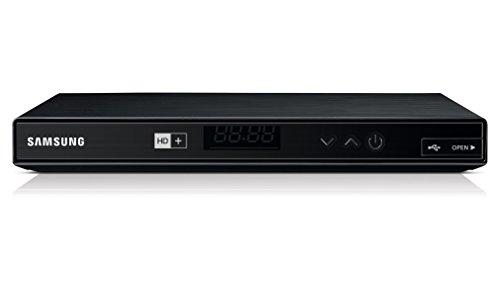 Samsung GX-SM650SJ/ZG HDTV Satelliten-Receiver (2x DVB-S/S2, Ethernet, HDMI, SCART, USB 2.0) inkl. HD+ Karte für 1 Jahr schwarz