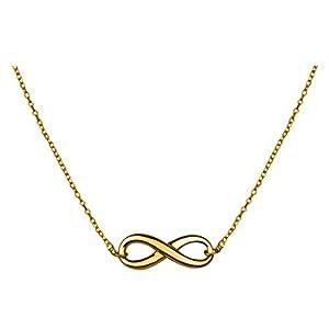 SOFIA MILANI Collier pour femme avec pendentif infini Infinity Argent