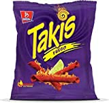 takis seasoning - Takis Fuego Hot Chili Pepper & Lime (Pack of 12) - 4 oz