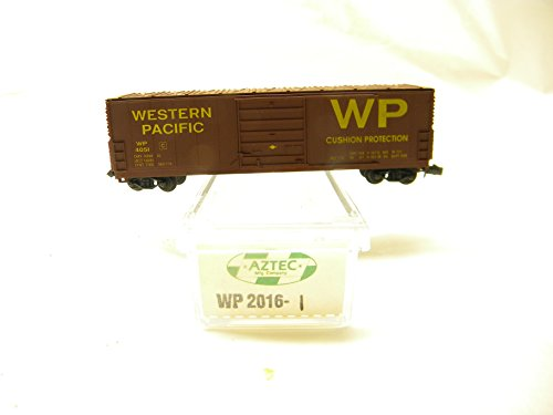 Used, Aztec N Scale WP 2016-1 Western Pacific Box Car for sale  Delivered anywhere in USA
