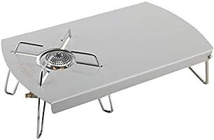 Rmete SOTO ST310 遮熱テーブル 専用遮熱板 シングルバーナー フルカバー アルミ製 軽量 折畳式 収納袋付き ST002