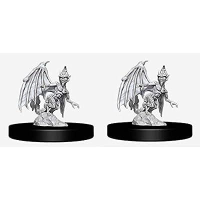 Dungeons & Dragons Nolzur`s Marvelous Unpainted Miniatures: W9 Quasit & Imp: Toys & Games
