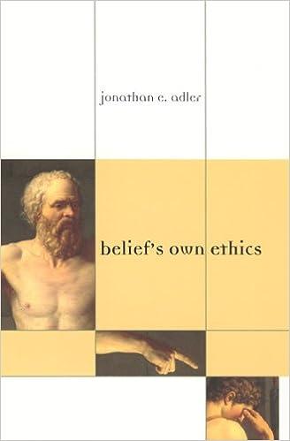 Book Belief's Own Ethics (Bradford Books)