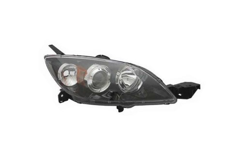 Mazda Mazda3 Hatchback Replacement Headlight Unit HID Type - Passenger Side