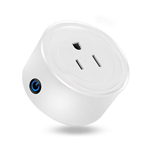MartinJerry mini Smart Plug Compatible with Alexa, Smart Home Devices Works with Google Home, No Hub required, Easy installation and App control as Smart Switch On / Off / Timing (V01 - 1 Pack)