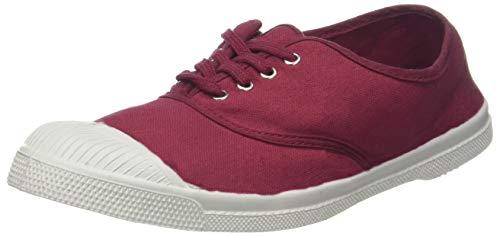 0403 Bensimon para Lacet Tennis Bordeaux Mujer Zapatillas Rojo xqwSv8TAq