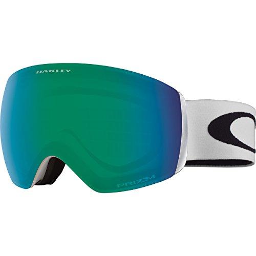 Oakley OO7064-23 Flight Deck XM Eyewear, Matte White, Prizm Jade Iridium Lens (Oakley Jade Iridium Lenses)