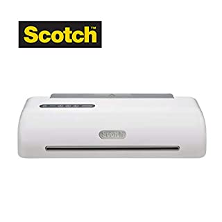 "Scotch Thermal Laminator Machine, 1 Minute Warm-up, 12.3"" Input, for Laminating Sheets Up to 6-Mil Thick - TL1306-C (B01LNNNLZI) 