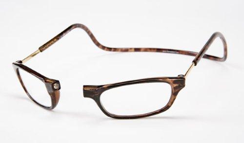 Clic Magnetic Reading Glasses Tortoise +3.00
