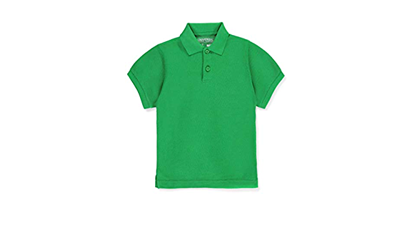 Kelly Green Universal Unisex S//S Pique Polo 3t