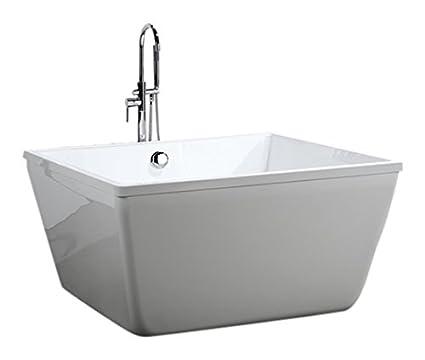 Charmant Bellaterra Home BA6806 Bologna 47 Inch Freestanding Bathtub In Glossy White