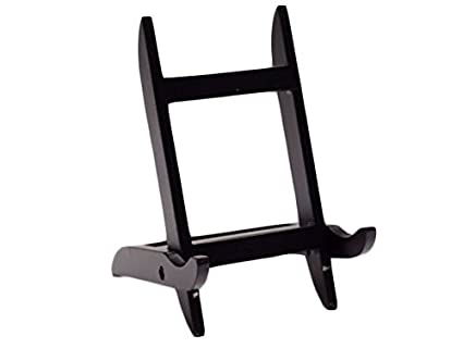 Amazon.com: Mission Style Wood Picture Frame - Easel Display Stand ...