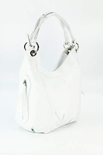 Belli H x Bianco B bianco x tote donna Borsa cm mittig T 35x31 x17 rPHwTrq