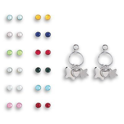 Doll Earrings - Birthstone Earrings for Dolls by American Girl