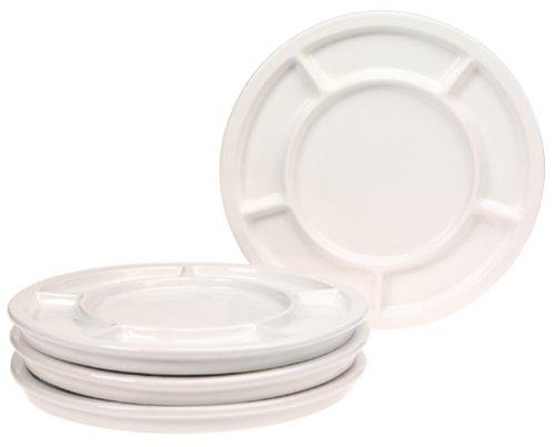 Checkout Trudeau Fondue Plates, Set of 4 wholesale