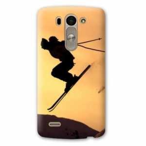 Amazon.com: Case Carcasa LG K10 Sport Glisse - - ski ombre N ...