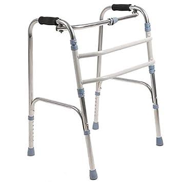 QETU Andador Plegable discapacitado, Ajustable, portátil ...