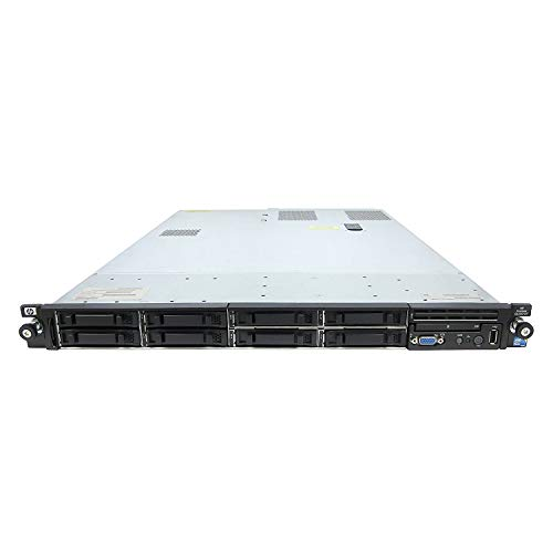HP ProLiant DL360 G7 1U RackMount 64-bit Server with 2xSix-Core X5650 Xeon 2.66GHz CPUs + 32GB PC3-10600R RAM + 8x146GB 10K SAS SFF HDD, P410i RAID, 4xGigaBit NIC, 2xPower Supplies, - Server G7 Hp