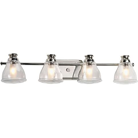 Progress Lighting P2813-15WB Four-Light Bath Vanity - Ceiling ...