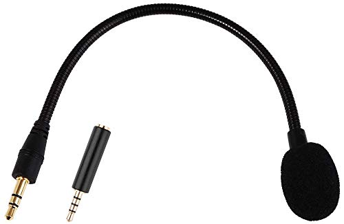 Phone Microphone for Headphone Jack - 3.5mm AUX - 7.5 Inch Detachable