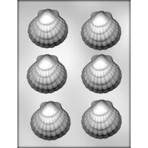 "3 Pack, 3"" Shell Chocolate Mold"
