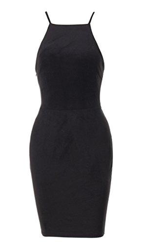 Mini Clubwear Strap Women Up Lace Dress Black Bodycon Spaghetti Bandage Blansdi Party H1nq0S6x
