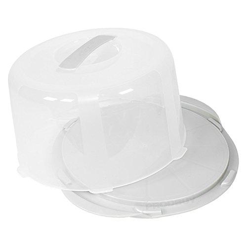 2 x Plastic Cake Transporters/Storage Caddies with Handles ProdBuy Ltd