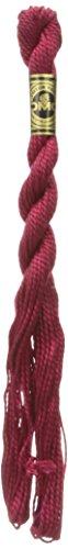 DMC 115 3-498 Pearl Cotton Thread, Dark Red