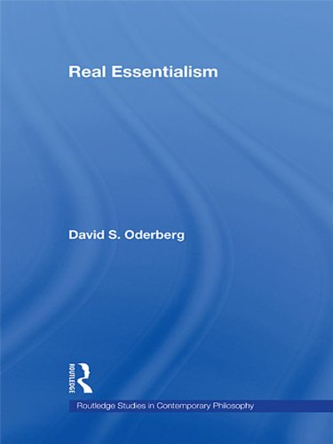 Download Real Essentialism (Routledge Studies in Contemporary Philosophy) Pdf