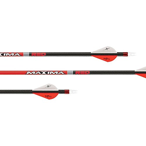 - Carbon Express Maxima Red Arrows with Blazer Vanes & Inserts (3 Pack)