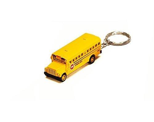 Mini Diecast School Bus Keychain Pullback by Kinsmart