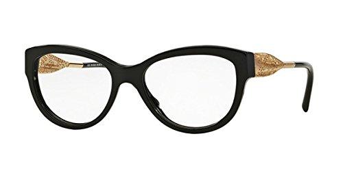 Burberry Women's BE2210F Eyeglasses Black - Burberry Lace