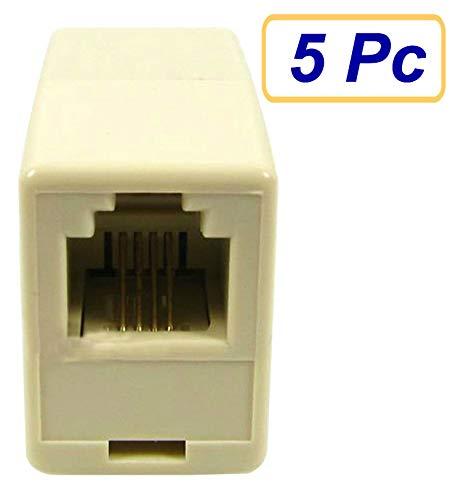 SUKRAGRAHA RJ9 4P4C Female to Female Plug Telephone: Amazon