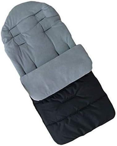 MHOYI - Saco de dormir para bebé forro de algodón, para asiento de cochecito de bebé,cómodo y universal,cálido,para invierno,resistente al viento,al calor,carrito de bebé,cojines de algodón: Amazon.es: Bebé