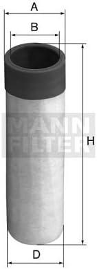 Mann Sekundär Luftfilter Teilenummer: CF50